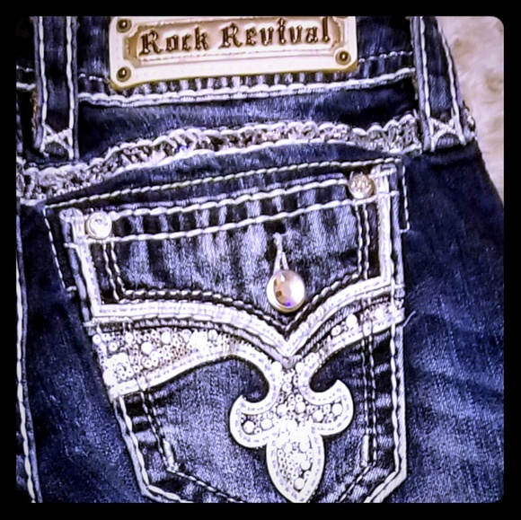 Rock Revival Denim - NEW ROCK REVIVAL NWOT💄💎lots of bling💄💎